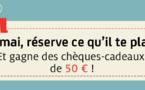 Kuoni France offre des chèques cadeaux de 50 € pour un challenge de ventes