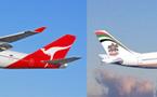 Etihad Airways en code share avec Qantas