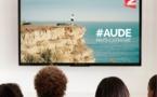 La destination Aude Pays Cathare s'affiche sur France Télévisions