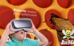 Alsace : le Jardin des papillons propose la visite d'une ruche en réalité virtuelle