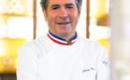 Michel Roth signe les plats de la première classe