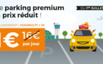 Aéroport Marseille Provence : parkings P1 et P6 disponibles sur l'AMP Store