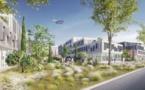 L'aéroport Montpellier Méditerranée dévoile son projet de parc tertiaire végétalisé