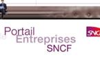 Le portail Entreprises de la SNCF décolle