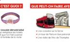 """Paris-Ile-de-France expérimente le bracelet """"Paris Region Pass"""""""