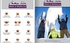 2009-2010 : MONA LISA vous dépeint les belles couleurs de la brochure Hiver