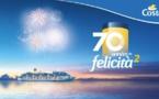 Costa Croisières prépare les festivités de son 70e anniversaire