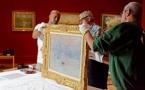 """Le tableau de Claude Monet """"Impression soleil levant"""" arrive au Havre"""
