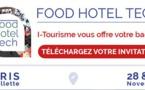 I-Tourisme vous invite à participer à Food Hotel Tech, un salon inédit pour préparer le futur de l'hôtellerie et la restauration