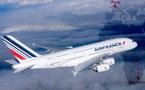 Air France : l'A380 pour la 1ère fois en Afrique