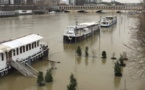 Le Louvre : un étage fermé à cause de la crue de la Seine