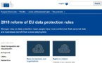 RGPD : la commission européenne lance un outil en ligne pour les PME
