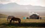 Terres d'Aventure s'arrête dans les montagnes d'Asie Centrale