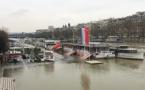 Crue de la Seine : A peine reprise, la navigation de nouveau à l'arrêt