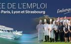 CroisiEurope recrute son personnel à Paris, Lyon et Strasbourg
