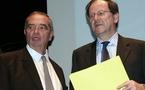 Hervé Novelli, muet depuis 4 jours, va prêcher la bonne parole aux pros...