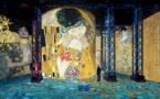 Gagnez votre entrée à l'exposition Gustav Klimt / Friedensreich Hundertwasser à l'Atelier des Lumières à Paris