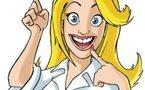 Léa : blonde, sympa, enjouée et rigolote...