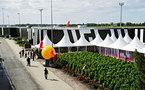Aéroport de Bordeaux : inauguration de l'aérogare low cost ''billi''