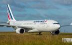 Air France : le trafic passagers baisse en mai 2018