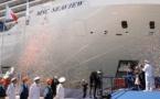 Le MSC Seaview baptisé à Gênes