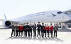 Cathay Pacific fait décoller son premier Airbus A350-1000