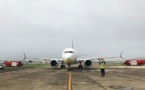 Jet Airways reçoit son premier Boeing 737 MAX