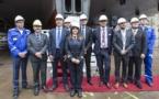 Costa : cérémonie des pièces pour le Costa Smeralda