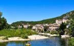Vogüé, un corridor en Ardèche