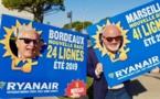 Ryanair ouvre une base à Bordeaux et 16 nouvelles lignes