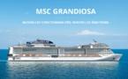 MSC ouvre les ventes pour la croisière inaugurale du MSC Grandiosa