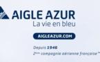 Campagne de pub : Aigle Azur voit la vie en bleu