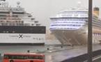 Collision entre navires de croisière : pas de dommage important pour le Costa Magica (Vidéo)