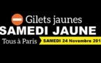 Gilets Jaunes : le périphérique parisien ciblé par des blocages samedi 24 novembre 2018