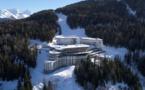 Vue aérienne du nouveau Club Les Arcs Panorama - Photo Club Med