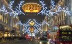 Royaume-Uni : les touristes attendus en masse pour les fêtes de fin d'année