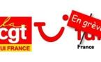 TUI France : la CGT appelle à la grève ce mardi de 14 à 16H