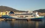 Corse : les navires de la Méridionale à quai