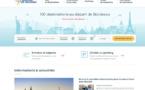 Aéroport de Bordeaux : un nouveau site web, pour améliorer l'expérience client