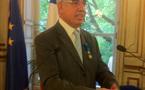 J.-L. Baroux reçoit les insignes d'Officier dans l'Ordre du Mérite National