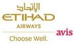 Avis et Etihad font gagner des vols et 7 jours de locations aux membres d'Etihad Guest