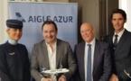 """Aigle Azur : """"le long-courrier représente 20% de notre activité"""" (vidéo)"""