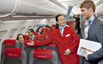 Austrian Airlines : un nouvel intérieur pour les avions court et moyen-courriers