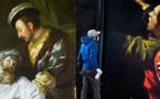 """""""La mort de Léonard de Vinci"""" : entre graff et œuvres classiques au Château d'Amboise"""