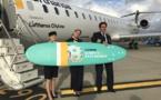 Lufthansa : l'aéroport de Biarritz fête l'arrivée du vol depuis Munich