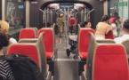Nice : une ligne de tramway relie l'aéroport au centre-ville