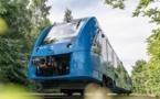 Le train qui circule en Allemagne alimenté par une pile à combustible - DR