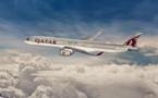 L'A350-1000 de Qatar Airways arrive à Paris