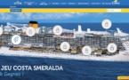 Costa Croisières fait gagner des croisières sur le Costa Smeralda aux agents de voyages