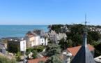 Guérande : une Côte d'Amour très haute et un océan de marais salants...